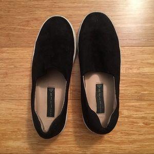 Steven By Steve Madden Shoes - Steven by Steve Madden black slip-ons
